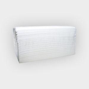 asciugamani piegati a c