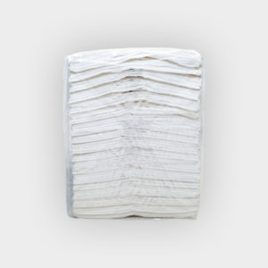 asciugamani piegati a c (fianco)