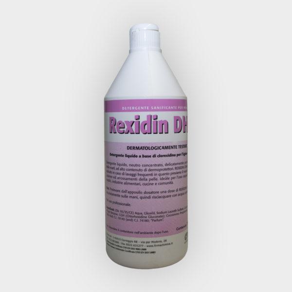 detergente liquido a base di clorexidina
