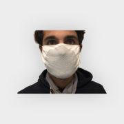 mascherina con fibra argento 1