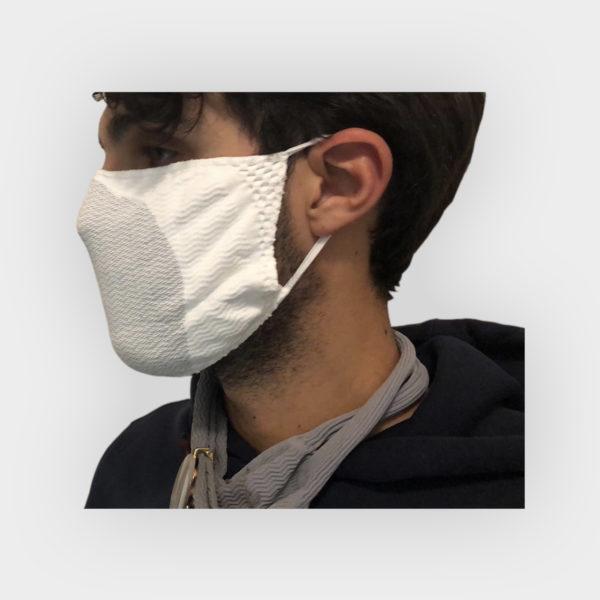 mascherina con fibra argento 2