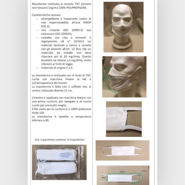 mascherina in TNT tessuto non tessuto def