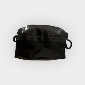 mascherina nera lavabile