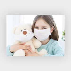mascherina chirurgica baby